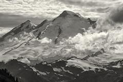 Glacier Covered Mountain (jpmckenna - Northern Plains Tour Coming Up) Tags: northcascades hikingwashington washingtontrails lakeanntrail mtbakernationalrecreationarea