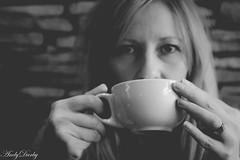 Coffee Time_ (Andy Darby) Tags: portrait woman cup coffee eyes shropshire drinking mug bridgnorth