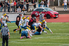 GFL-2016-Panther-9889.jpg (sgh-fotos) Tags: football nfl bowl german panthers sack dsseldorf touchdown defence invaders hildesheim dline fumble gfl amarican quaterback oline interception ofence