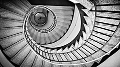 snapshot of a staircase (darynthe) Tags: spiral golden stair ratio