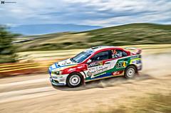 on the go (papkostantin) Tags: car speed rally dirt dust panning mitsubishi gravel evo motorsport flatout acropolisrally rallyacropolis rallie panningshot
