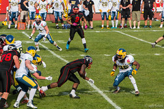 GFL-2016-Panther-9943.jpg (sgh-fotos) Tags: football nfl bowl german panthers sack dsseldorf touchdown defence invaders hildesheim dline fumble gfl amarican quaterback oline interception ofence