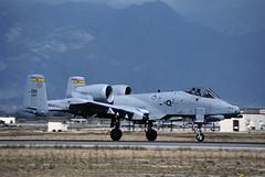 A10  663 (TF102A) Tags: aircraft aviation jet kodachrome usaf warthog a10