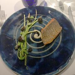 IMG_8982 (H Sinica) Tags: edamame seabream springonion alliumpuree morelmushroom