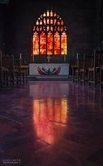 Manchester 2016 (Ollie Smith Photography) Tags: reflection phoenix manchester nikon cathedral may citycentre stainedglasswindow lightroom sigma1750 d7200