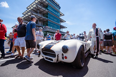 Andre Ahrle next to Bobby Unser's white Cobra (michaelallanfoley) Tags: nikon tokina f28 1116 1116mm d7000