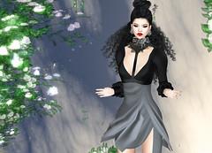AZUL - Sadie (Rehana MiSS SLVietnam, Face of CHOP ZUEY 2015) Tags: fashion azul cx secondlife laboheme rehana newrelease slink posesion analogdog chopzuey rehanaseljan