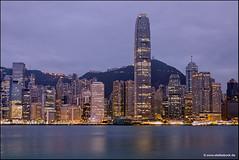 Hong Kong Skyline Early Morning (Stefan Bock) Tags: hongkong hongkongisland skyline skyscraper architecture architektur sunrise morning morgen citylights cityscape