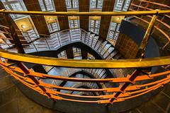 Follow You down (*Capture the Moment*) Tags: light architecture stairs licht staircase architektur treppen treppenhaus 2016 sprinkenhof 1018mm sonynex7