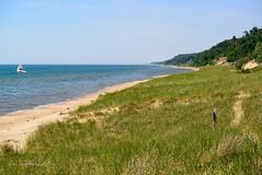 Dunescape (shirley319) Tags: holland beach water june sand unitedstates michigan dunes lakemichigan 2016 d600 saugatuckmichigan saugatuckdunesstatepark puremichigan