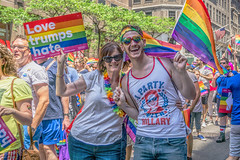 2016 NYC Pride Parade (JMS2) Tags: street nyc people colors fun march rainbow pride parade lgbt gaypride fifthavenue cause marchers