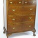 319. Two over Three Chest of Drawers