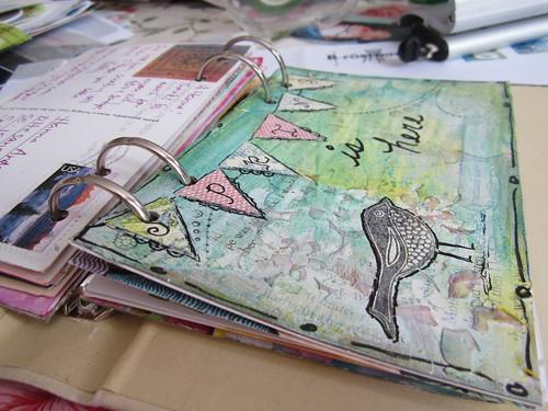 Postcard binder