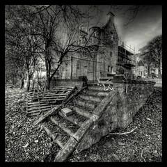 Tertowie House. Aberdeenshire. Monochrome (PeskyMesky) Tags: house monochrome aberdeenshire tertowie tertowiehouse mygearandme mygearandmepremium mygearandmebronze mygearandmesilver