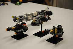 Mining Fleet (The Lego Baron) Tags: lego micro microspace microscale microspacetopia