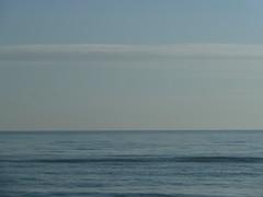 P1000073 (gzammarchi) Tags: italia mare nuvola natura paesaggio ravenna geometria monocrome camminata itinerario casalborsetti
