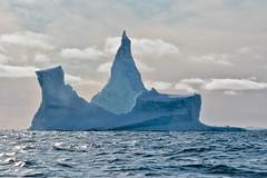 Iceberg1 (Robyflex) Tags: blue sea mer white mountain snow ice glacier bleu greenland fjord neige iceberg glace groenland canon40d