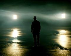(Benjamin Skanke) Tags: portrait man reflection 120 film wet oslo norway analog vintage lights norge asahi pentax takumar kodak smoke slide medium format 24 100 6x7 epp expired ektachrome e6 canoscan 67 120mm 105mm