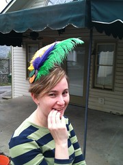 2012-02-18 (AtlantaTwin) Tags: head feather gras piece mardi seedfeed doubloons