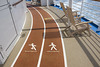 Jogging Track (blueheronco) Tags: cruise ship caribbean royalcaribbeaninternational joggingtrack oasisoftheseas oasisclass