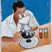 Laboratory Advertisement Painted On Wall Boorama Somaliland