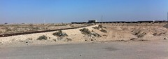 Railway line between Umm Qasr and Basra