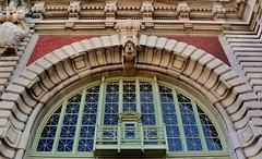 Arch, Main Building, Ellis Island (hpaich) Tags: desktop wallpaper brick window face arch ellis decorative background carving carve entryway ornate desktopwallpaper ellisisland desktopbackground