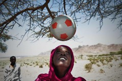 UNHCR News Story: Somali woman forced into exile by her love of the beautiful game (UNHCR) Tags: africa woman news game sports closeup football education women escape kenya refugee redsea border help aid violence conflict yemen exile shelter widow information protection saudiarabia assistance unhcr somalia aden persiangulf smugglers somaliland insecurity hornofafrica resettlement newsstory eastafrica refugeecamp djibouti mogadishu dadaab webstory unrefugeeagency durablesolution highcommissionerforrefugees aliaddehrefugeecamp