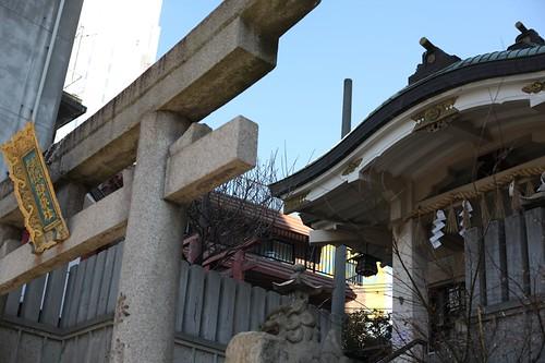 街なかの神社