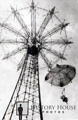 """Coney Island Parachute Jump 1954 • <a style=""""font-size:0.8em;"""" href=""""http://www.flickr.com/photos/56515162@N02/6876040181/"""" target=""""_blank"""">View on Flickr</a>"""