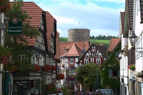 """Besigheim Germany """"timber-framed building"""" Half-Timbered """"Lens Nikon 16-85mm f/3.5-5.6G ED VR DX AF-S Nikkor"""""""