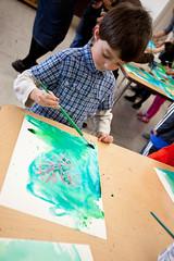 February 10 | Conversation (Katrina_Kennedy) Tags: art painting ian heart potd 365 kindergarten ldv