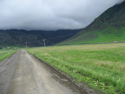 Carretera hacia Seljavellir - Islandia