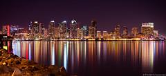San Diego (Eddie 11uisma) Tags: california 2 usa seascape colors speed canon landscape island harbor is san long exposure cityscape mark diego shutter 5d 28 split tone lightroom 70200mm