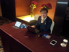 Hwan at Khronos Taipei DevU 2012 (Khronos Group) Tags: kite education technology developers khronos devu