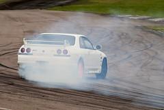 Good Old Drifting (Simon Didmon) Tags: skyline nikon nissan hill drifting r32 trackday lydden d3000