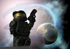 Master Chief - Halo 4 (Solid Brix Studios) Tags: lego halo masterchief halo4 legohalo