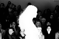 Fashion Disaster (Alex Bamford) Tags: show fashion burntout catwalk londonfashionweek clarencehouse felderandfelder negativesilhouette