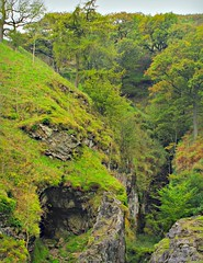 The Secret Entrance (Dazzygidds) Tags: diverse derbyshire diversity gorge nationaltrust fissure darkpeak peakdistrictnationalpark castleton winnatspass hopevalley peverilcastle leadmine limestonegorge odinsmine derbyshiremine derbyshirecave odinscave nearmamtor odinsgorge