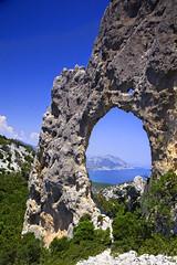 S'Arcada Lupiru, Sardigna (Andrea Loria) Tags: luna punta cala golfo orosei gonone supramonte margiani