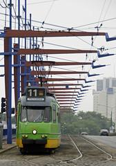 Poznan 807 (Neil Pulling) Tags: amsterdam tram poland polska strassenbahn gvb poznan tramwaj wielkopolska pozen beynes3g poznan807 beijnes3g