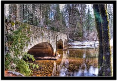 Ahwahnee Bridge (scrapping61) Tags: california bridge forest river yosemitenationalpark legacy 2012 ols tistheseason swp mywinners landscapesdreams scrapping61 stealingshadows awardtree imagesforthelittleprince showthebest daarklads trolledproud trollieexcellence daarklandsexcellence hypotheticalawards exoticimage pinnaclephotography digitalartscene newartii