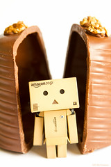 It's a New World (Fairy_Nuff (new website - piczology.com!)) Tags: easter chocolate egg walnut whip hatchling danbo revoltech danboard