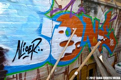 DSC_0717 (TaniaFuentezMedia) Tags: newyorkcity travel music art graffiti crash bronx murals bio hiphop how subways photgraphy nicer thepoint tatscru toytokyo nosm huntspoint bg183 muralkings johnmatos taniafuentez taniafuentezmedia