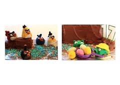 Angry Birds Hog Cake (Craig Williams Photography) Tags: birthday macro cake canon sussex southeast angrybirds craigwilliams canon50d craigwilliamsgallery