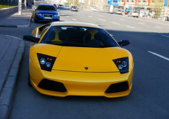 Lamborghini Murcielago LP640 (Pasha Agatov) Tags: city shadow black slr yellow mercedes design italia russia moscow sony 911 sigma ferrari bull mclaren porsche gto 12 500 alpha dslr bugatti premier lamborghini ff supercar g55 mc12 maserati aston zonda amg vantage gtb 850 veyron murc