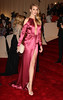 Rosie Huntington-Whiteley Alexander McQueen: 'Savage Beauty' Costume Institute Gala 2011 at The Metropolitan Museum of Art New York City, USA