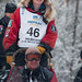 A beaming Ryne Olson ready for her first Iditarod