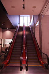 "The Red Escalators • <a style=""font-size:0.8em;"" href=""http://www.flickr.com/photos/59137086@N08/6973485269/"" target=""_blank"">View on Flickr</a>"