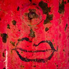 Rouge baiser (bbferrand) Tags: rouge peinture bouche visage villeray borneincendie madameb